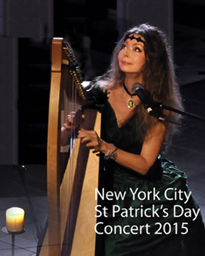 Marsha at New York City St. Patrick's Day Concert 2015