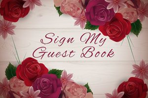 Sign My Guest Book